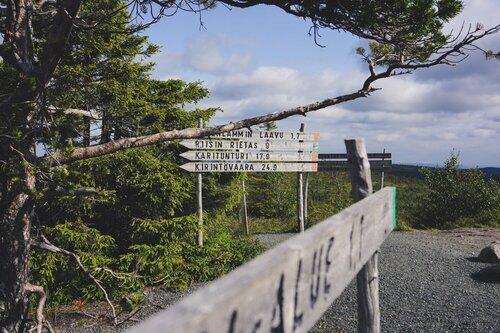 Valtavaara trail
