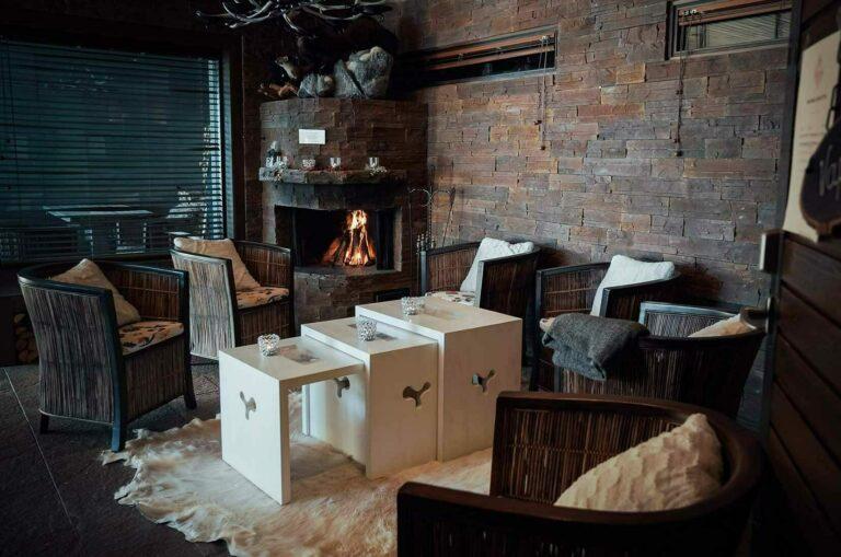 Kiuta Sauna lounge