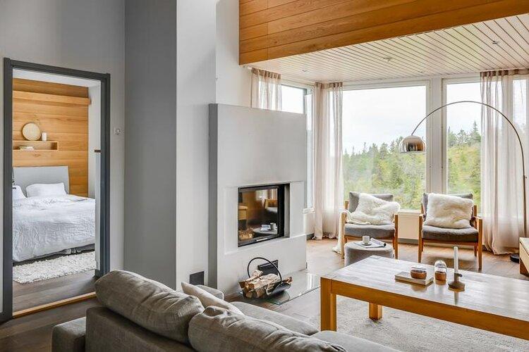 Rukavuorenhuippu 23A living room