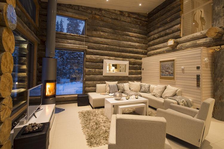 Villa Vuosselinranta living room